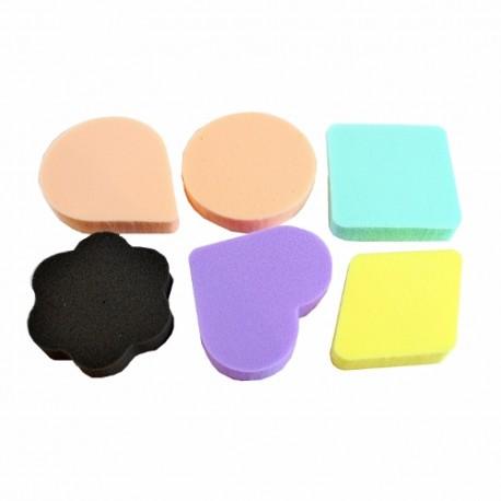 CP45 - Sada 6 ks houbiček na make-up